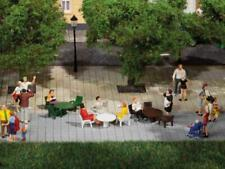 More details for auhagen 42647 ho gauge garden tables and chairs plastic kit