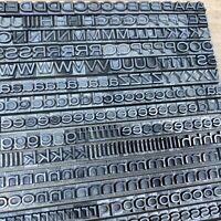 24p AKZIDENZ Grotesk breit - Bleisatz Bleilettern Letterpress Type Druckerei