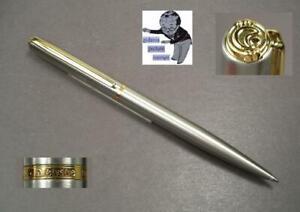 Elysee Dynamic Kugelschreiber in Edelstahl neuwertig  #