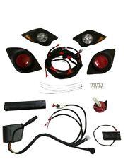 Premium YAMAHA G29 Drive Golf Cart Street Legal LED Headlight & Tail light Kit