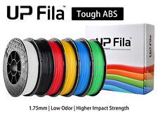 UP Fila Tough ABS (ABS+) 3D Printer Filament, 1KG (500g×2 Spools), UK Stock