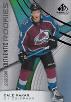 CALE MAKAR NO:184 ROOKIE RAINBOW 232/298 in SP GAME USED 2019-20     a
