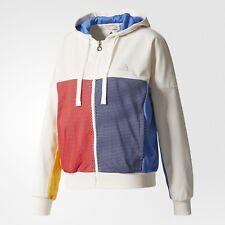 Adidas PHARRELL WILLIAMS NEW YORK Tennis Track Jacket-Hoodie firebird~Women sz M