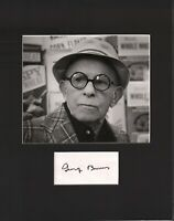George Burns Signed Autographed Cut Matted 11x14 w/COA 073019DBT2