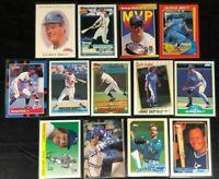 George Brett -13 Cards, 1987-2020 - Donruss,Fleer,Topps 40 Years, Score - Royals