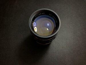 Soligor 135mm f2.8 lens | M42 thread mount
