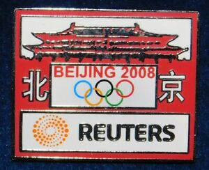 OLYMPIC GAMES 2008 BEIJING, CHINA SUMMER GAMES LAPEL PIN