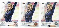 2012 Topps Olympic Shawn Johnson Gymasntics DWTS Lot of 30 Base Bronze Silver