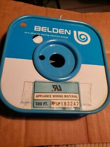 "400"" Belden 83000 30 AWG 1C 7x38  White Hook Up Wire"