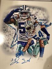 Jaylon Smith Autographed Signed Dallas cowboys 16x20 Photo  JSA