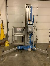 2015 GENIE AWP40S 40' ELECTRIC PERSONNEL SCISSOR VERTICAL MAST MAN LIFT