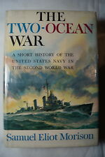 WW2 US Two Ocean War History Of USN In WW2 Reference Book