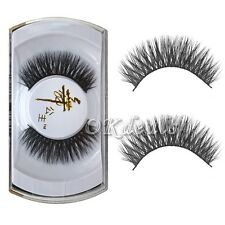 Real Mink Handmade Thick Soft False Eyelashes Fake Eye Lash Makeup Extension