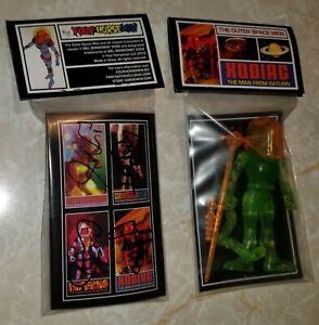 outer space men XODIAC figure with FOUR HORSEMEN AUTOGRAPHS colorforms SDCC NYCC