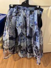 Forever New Floral mid length skirt - Size 8
