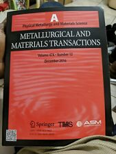 Physical Metallurgy Materials Science
