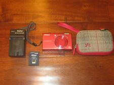 Nikon COOLPIX S6200 16.0MP Digital Camera - Red GREAT COND.