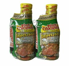 Tony Chachere's Creole Injectables Roasted Garlic Herb Turkey Marinade, 2-17 oz