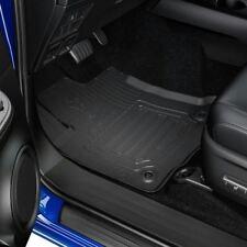 Genuine Toyota Hilux 2016+ Double Cab Black AT Rubber Carpet Mats - PW210-0K036