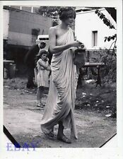 Vanessa Redgrave sexy candid on set Isadora VINTAGE Photo