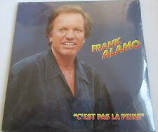 """FRANK ALAMO - CD SINGLE PROMO """"C'EST PAS LA PEINE"""" - NEUF SOUS BLISTER D'ORIGINE"""