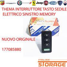 THEMA INTERRUTTORE TASTO SEDILE ELETTRICO SINISTRO MEMORY NUOVO ORIG 177085880