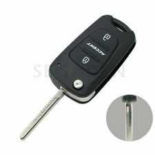 Replace Flip Key Shell fit for HYUNDAI Accent Remote Case Fob Uncut 3BTN S150A