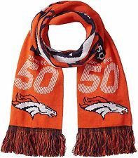 "Denver Broncos Football Super Bowl 50 Going to the Game NFL 60"" Acrylic Scarf"