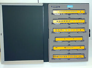 """Kato N 106-014 Wagenset """"SMOOTH SIDE"""" der Union Pacific OVP RS2957"""