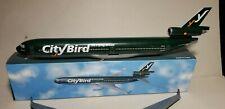 FLIGHT MINATURE CITY BIRD AIRLINES MD-11 1:200 SCALE PLASTIC SNAPFIT MODEL