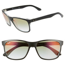 Ray Ban Mirrored Square Sunglasses/RB4181