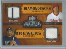 2015 UD #169, Conor Jackson & Prince Fielder Ballpark Collection Game Used Card