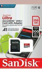 Sandisk Micro SD Card Ultra Memory Card 256GB