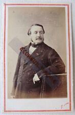 CDV PHOTO NADAR Louis de TREDERN RENNES 1864  militaire député écrivain F21
