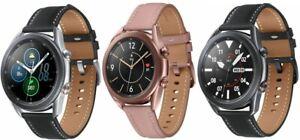 Samsung Galaxy Watch3 41mm 45mm Stainless Steel Black Bronze Silver LTE Unlocked