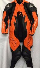 KTM Dainese R Race Leather Suit, Orange/Black , Size 52