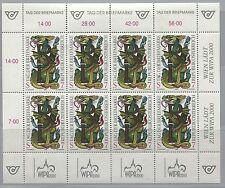 """Österreich Austria 2260 KLB Tag der Briefmarke 1998 Buchstabenpaar """"R"""" und """"L""""**"""