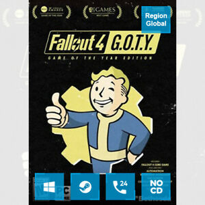 Fallout 4 GOTY Edition for PC Game Steam Key Region Free