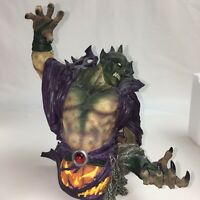 Marvel Ultimate Ultimate Bust Spider-Man Green Goblin Statue Diamond Select