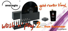 ♫ NEW MACHINE A LAVER DISQUE 33 T / 45 T  WASH 'N' PLAY ANALOGIS 2 ♫