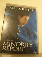 Dvd  MINORITY REPORT CON TOM CRUISE  ( coleccionistas )