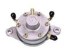 Round Mikuni Dual Vacuum Operated Fuel Pump For Snowmobile, ATV, Carts
