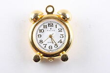 FOCUS BIG BEN NECKLACE PENDANT GOLDTONE WATCH W/O CHAIN  WORKS 6933
