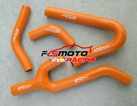silicone radiator coolant hose FOR KTM 250/300/380 SX/EXC/MXC 1998-2003 ORANGE