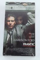 Roman Polanski's Frantic Harrison Ford 1988 VHS Tape Brand New Thriller
