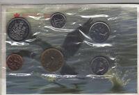 1988 Canada PL RCM Set (6 Coins UNC.)