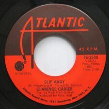 Soul 45 Clarence Carter - Slip Away / Funky Fever On Atlantic