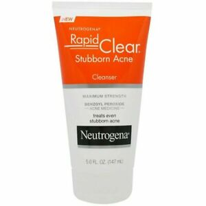 Neutrogena, Rapid Clear, Stubborn Acne Cleanser, Maximum Strength, 5.0 fl oz