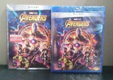 Avengers: Infinity War    (Blu-ray)    Marvel    w/Slipcover    BRAND NEW