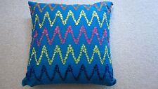 NWT- Studio D S-ZET-ACC 18x18 Square Decorative Pillow 100% Cotton with zipper